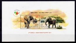 INDE  Timbres Neufs ** De 2011  ( Ref  4659 ) Animal - éléphant