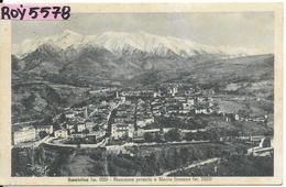 Lazio-rieti-amartrice Veduta Panorama Parziale Monte Gorzano Anni 30/40 - Italia