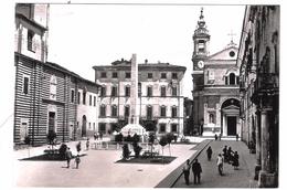 JESI - PIAZZA FEDERICO II CON CATTEDRALE - VIAGGIATA 1961 - (208) - Altre Città