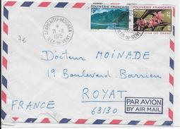 POLYNESIE - 1975 - ENVELOPPE Par AVION De AFAREAITU MOOREA - Polynésie Française