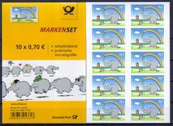 Deutschland MH 'Ottifant (Comic-Elefant)' / Germany Booklet 'Ottifant (Elephant Comic)' **/MNH 2017