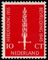 ~~~ Netherlands 1955 - 10 Years Liberation / Bevrijding - NVPH 660   ** MNH ~~~ - Nuovi