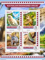 SOLOMON Isl. 2016 - Endangered Species, Frogs