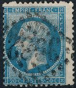 Stamp France 1862 20c Numeral Used Lot#40 - 1862 Napoleon III