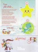 Carte Du Père Noel La Poste 2010 - Xmas