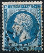 Stamp France 1862 20c Numeral Used Lot#60 - 1862 Napoleon III