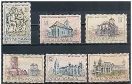 Romania/Roumanie: Monumenti Storici, Monuments Historiques, Historical Monuments