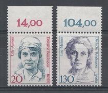 Allemagne Berlin 1988 Mi.nr: 806 + 811-812 Frauen....  Neuf Sans Charniere /MNH / Postfris - [5] Berlin