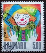 Denmark 2002 Europa CEPT   Minr.1311  (O)  Zirkus Du Cirque Circus Clown ( Lot  L 2953 )