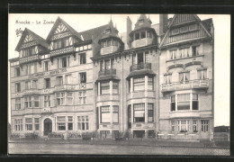 AK Knocke-Le Zoute, Blick Auf Das Jacobs-Hotel - Belgium