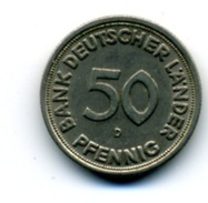 1949 50 PFENNING D - 50 Pfennig