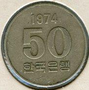 Corée Du Sud South Korea 50 Won 1974 KM 20 - Korea, South
