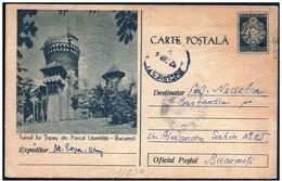 Romania/Roumanie: Intero, Stationery, Entier, Castello, Castle, Château, Vlad Tepes, Dracula