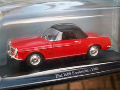 EDICOLA  FIAT 1600 S  CABRIOLET CHIUSA  Scala 1/43