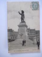 CPA   DUNKERQUE - Statue Jean Bart 1905 T.B.E. - Dunkerque