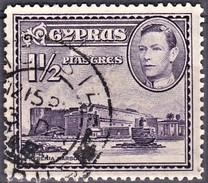CHYPRE CYPRUS 1938-1944    Kyrenia Harbour  1v.