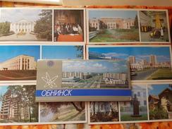 RUSSIA . Obninsk  - Old USSR Postcard Lot  - 13 PCs 1987 - Rusland