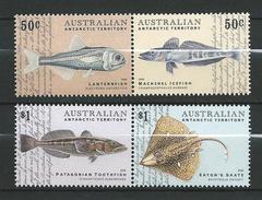 Antarctica.Australian Antarctic Territory (AAT).2006 Fish Of Antarctica.Sea Fauna.MNH - Unused Stamps