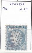 GARD -  S/60 - 25c Céres Bleu - Oblit GC 4119 (  Vauvert  )