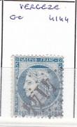 GARD -  S/60 - 25c Céres Bleu - Oblit GC 4144 (  Vergezet  )