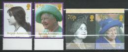 Antarctica > British Antarctic Territory (BAT).2002 Queen Elizabeth The Queen Mother Commemoration,stamps & Bl.stamp.MNH - Territoire Antarctique Britannique  (BAT)