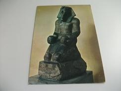 STATUA IN GRANITO DEL RE AMENOFI II OFFERENTE VINOMUSEO EGIZIO DI TORINO - Sculture