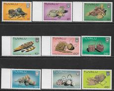 Timbres De Tuvalu Neufs Sans Charniére, Deux Parmi Avec Petit Taches, MINT NEVER HINGED, 2 AMONG WITH LITTLE SPOTS - Tuvalu