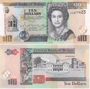 Belize - 10 Dollars 2001 UNC Lemberg-Zp - Belize