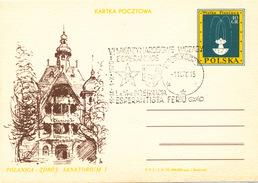 L3052 - Poland (1970) Medzygorz: La VI-a Internacia Esperantista Ferio (commemorative Postmark) - Esperanto