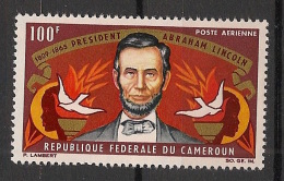 Cameroun - 1964 - Poste Aérienne PA N°Yv. 64 - Lincoln - Neuf Luxe ** / MNH / Postfrisch