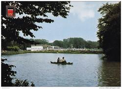 Grote Kaart Brasschaat Park Roeivijver Recreatiecentrum Zwembad Openluchtzwembad Kano - Brasschaat