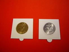 PIECES 1 ET 2 EURO TEMPORAIRE VIMOUTIERS - Euros Des Villes