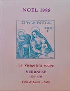 NOËL 1988 - NEUF ** - YT BL 103 - MI BL 106B - NON-DENTELE
