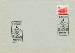 L3057 - Hungary (1977) Abaliget: IREN 10a Internacia Renkontigo Naturamika - Esperanto