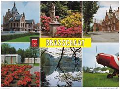 Grote Kaart Brasschaat Park De Mick Kasteel Prins Kavelhof  Vliegveld Polygoon Gemeentehuis Aeroport Airport Flughafen - Brasschaat