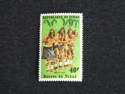 TCHAD YT 241 OBLITERE - DANSE SARA KABA - Tschad (1960-...)