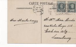 3109   Postal Belgica   Antwerpen  1928 - Bélgica