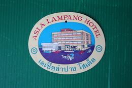 HOTEL SIA LAMPANG - BANGKOCK - 1972 - Fatture & Documenti Commerciali