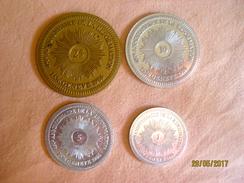 Suisse: Set De Jetons Souvenir -  450e Anniversaire De La Réformation, Genève 1986 - Jetons & Médailles