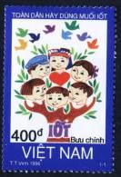 Vietnam Viet Nam MNH Perf Stamp 1996 : All People Should Use Iodised Salt (Ms742) - Vietnam