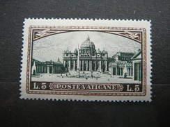 St. Peter's Square # Vatican Vatikan Vaticano MNH 1933 # Mi. 34 - Vatican