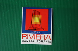 HOTEL RIVIERA - MAMAIA  - 1971 - Fatture & Documenti Commerciali