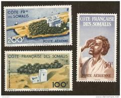 Côte Des Somalis  PA N°20/22  N** LUXE Cote 35 Euros !!!RARE - Côte Française Des Somalis (1894-1967)