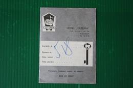 HOTEL OLTENIA - BUCURESTI  - 1971 - Fatture & Documenti Commerciali