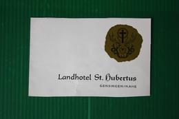 LANDHOTEL ST. HUBERTUS  - 1973 - Svizzera