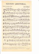 """Partition """"Tonton Cristobal"""" """"Les Postières"""", Violon, Accordéon, Chant, Avec Paroles.¨Pierre PERRET - Other"""