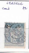 GARD  S/ 101 - 15c Sage Bleu - Oblit  A2 (   Vergeze )