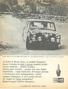 1966 - Paddy Hopkirk - BMC Mini Cooper S  - Candele CHAMPION - 1 P. Pubblicità Cm. 13 X 18 - Automobilismo - F1