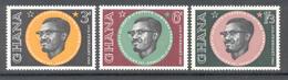 Ghana 1962 - Michel 124 - 126 **
