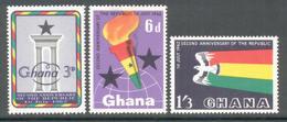 Ghana 1962 - Michel 127 - 129 **